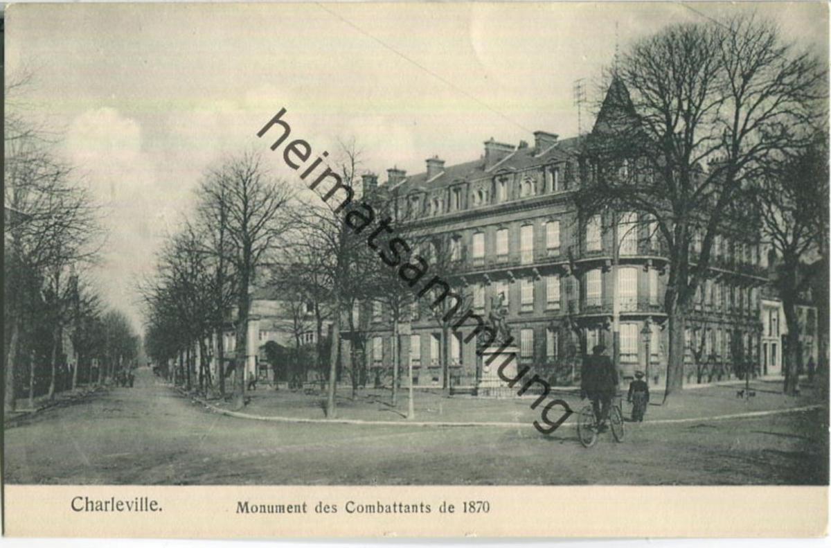 Charleville - Monument des Combattants de 1870 - Verlag Gaspillage Charleville