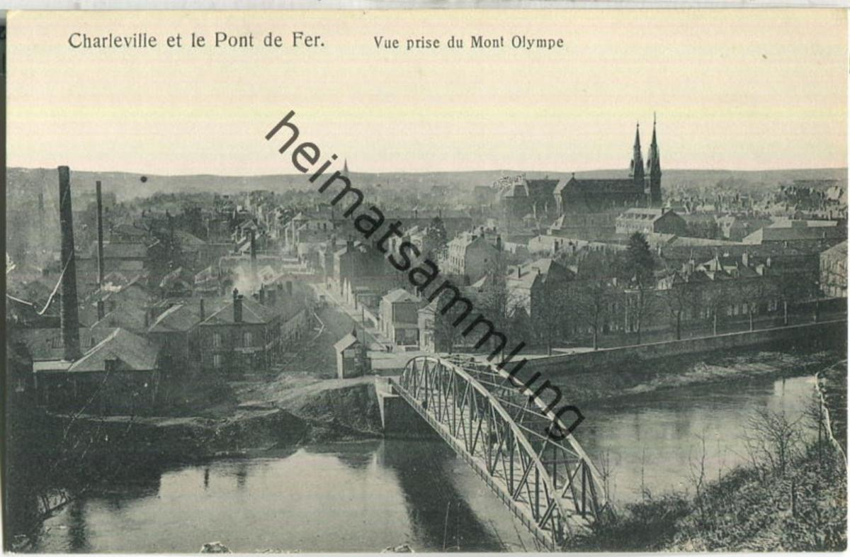 Charleville - Pont de Fer - Verlag Gaspillage Charleville