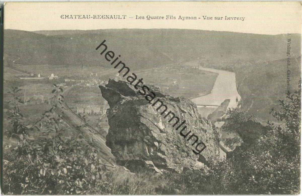 Chateau Regnault - Les Quatre Fils Aymon - Verlag J. Wingling Charleville