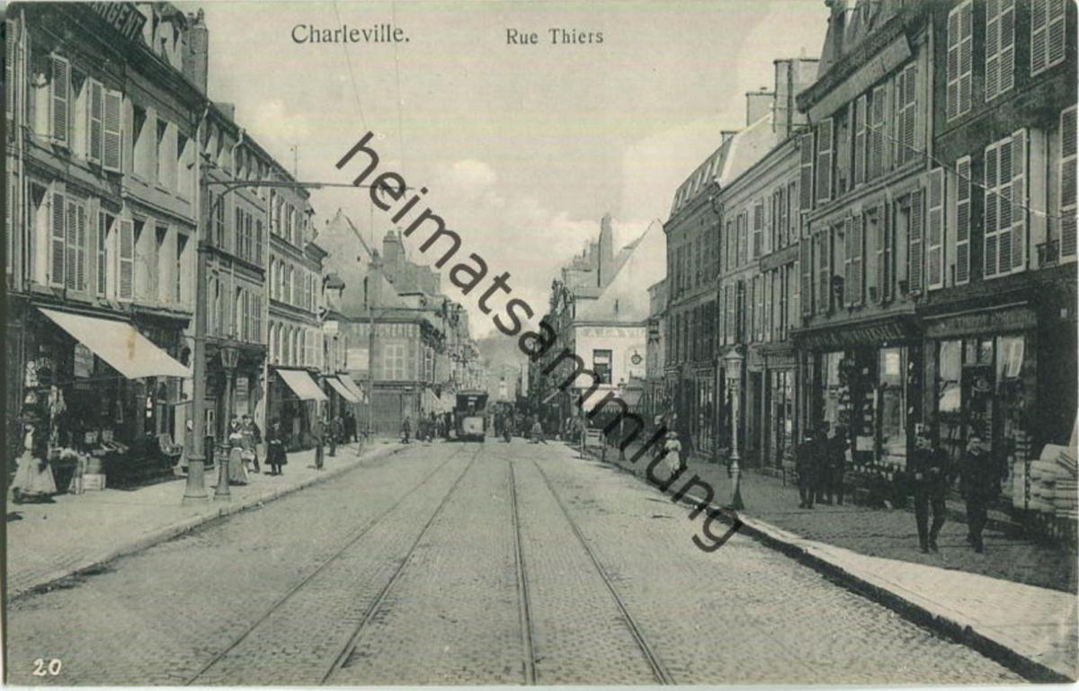 Charleville - Rue Thiers - Verlag Gaspillage Charleville