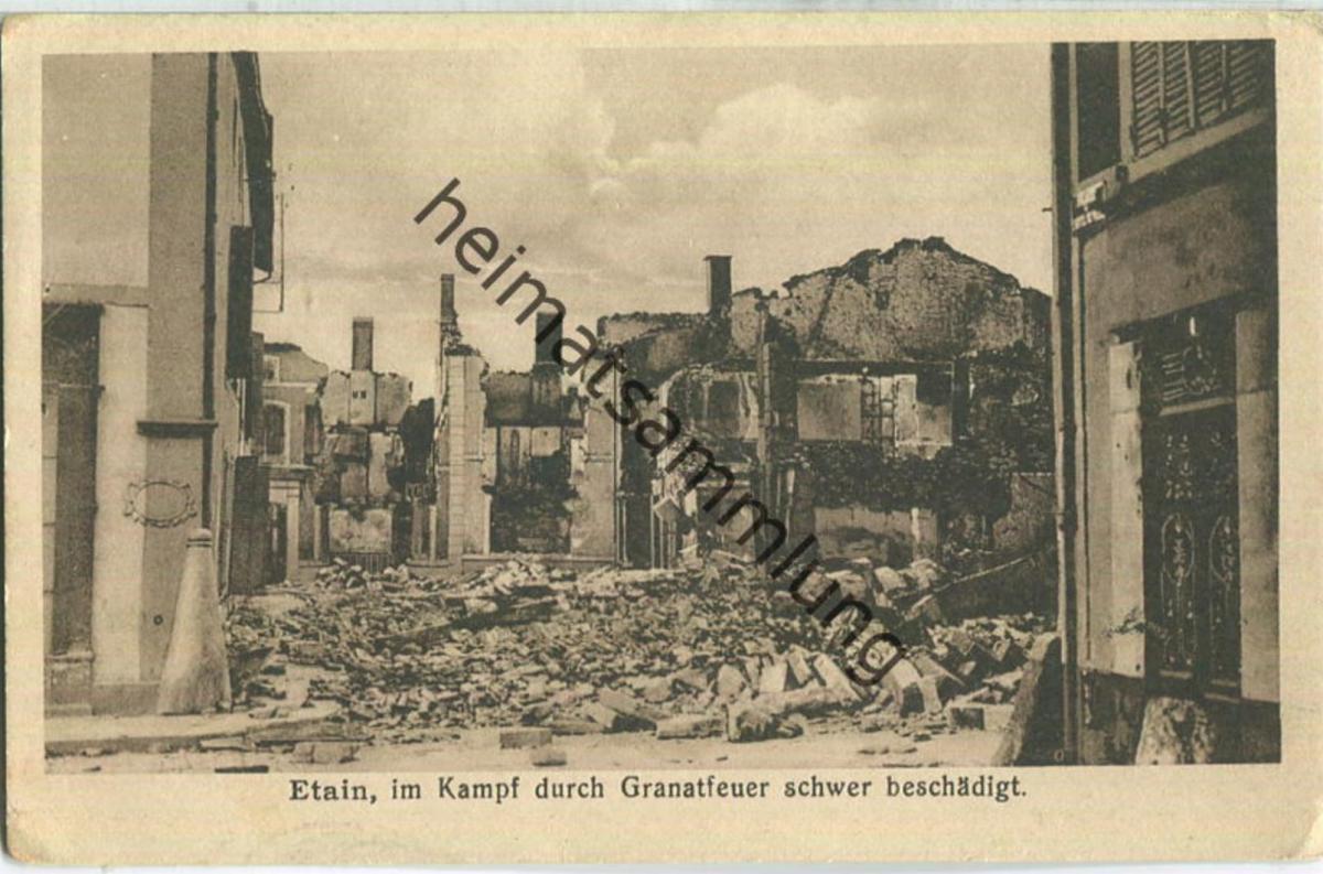 Etain - Feldpost - Verlag A. Guenot Metz