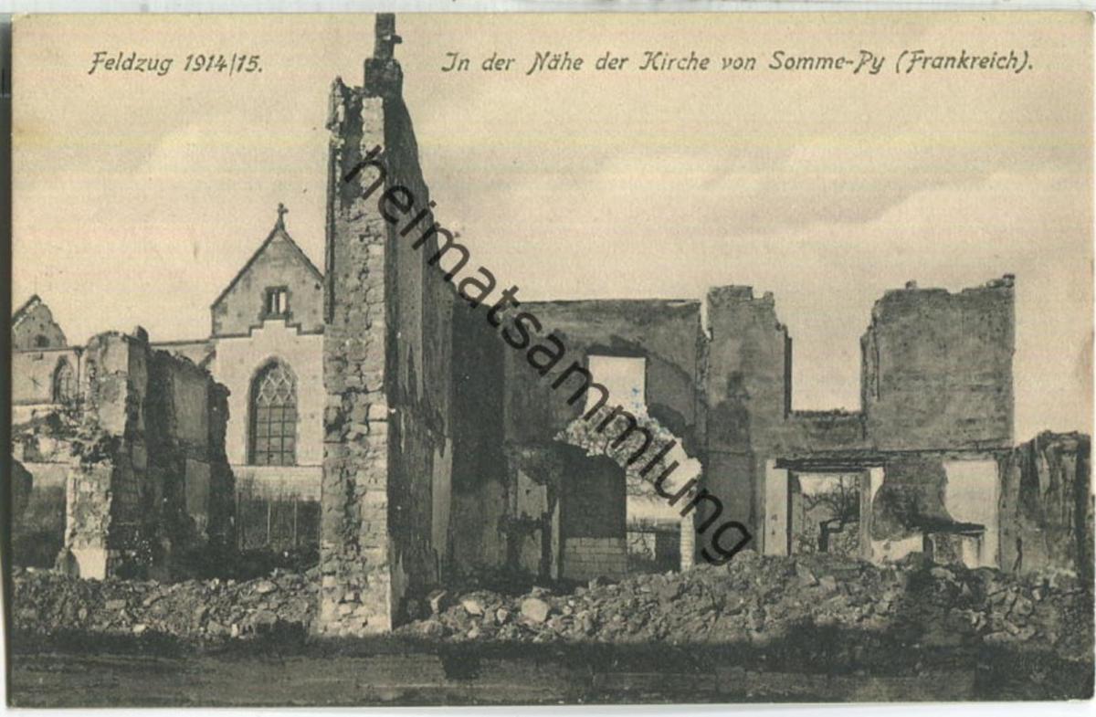 Somme-Py - Feldpost - Verlag H. Wiegand Leipzig