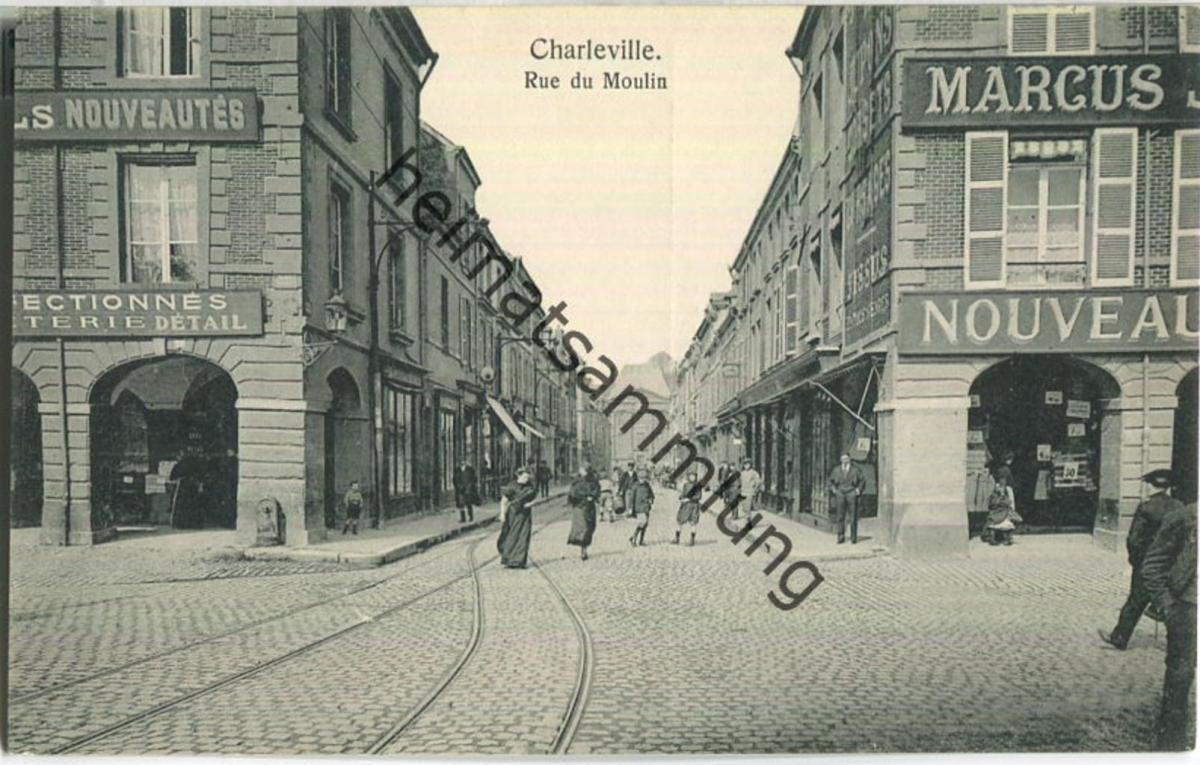 Charleville - Rue du Moulin - Verlag Gaspillage Charleville
