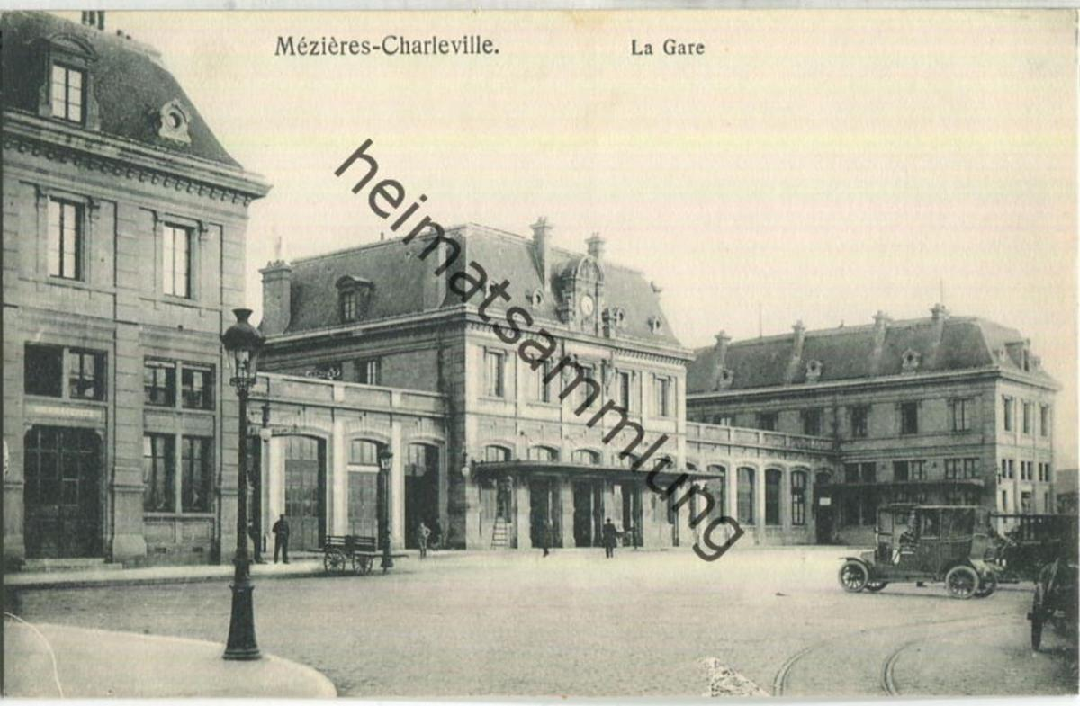 Mezieres-Charleville - La Gare - Verlag Gaspillage Charleville