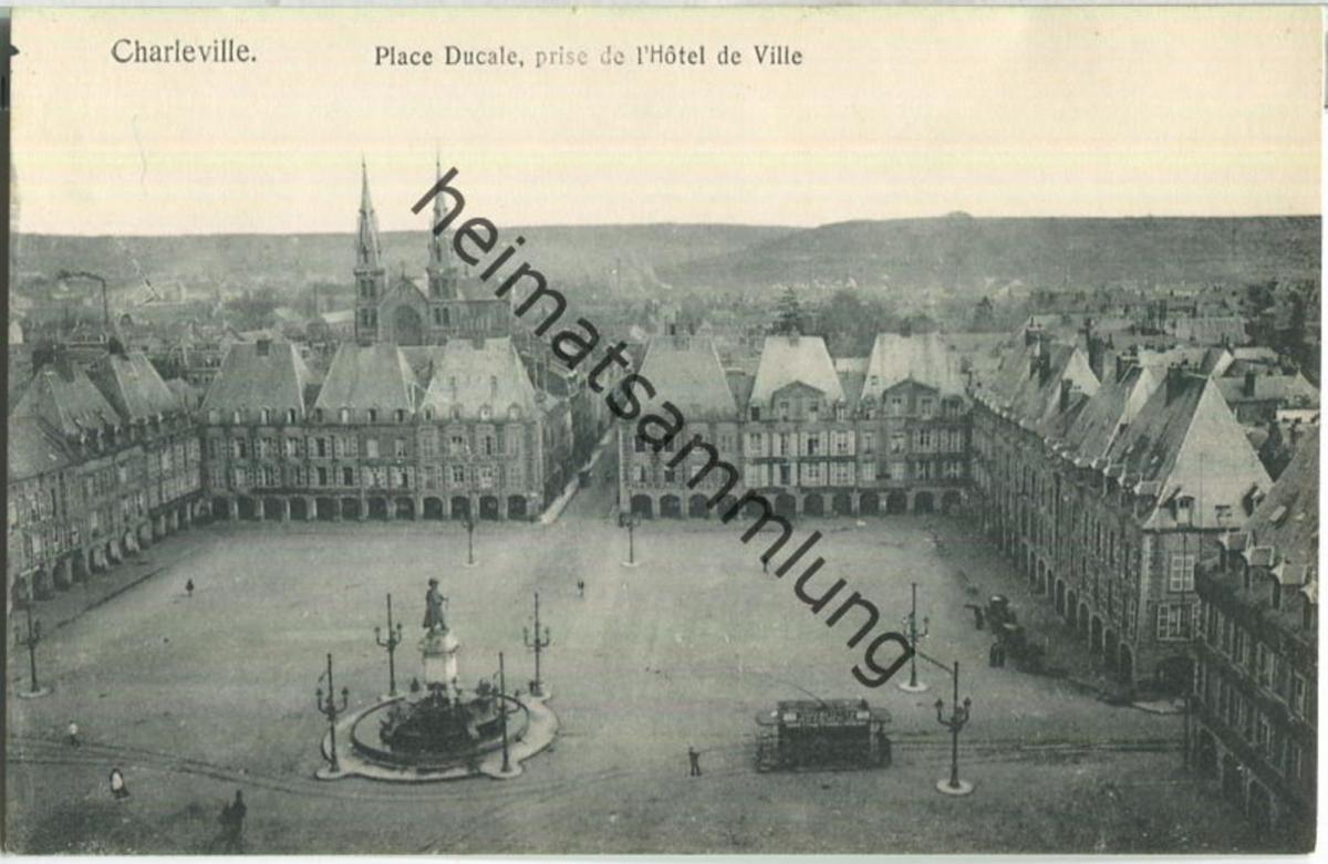 Charleville - Place Ducale - Verlag Gaspillage Charleville
