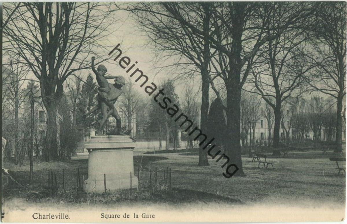 Charleville - Square de la Gare - Verlag Gaspillage Charleville
