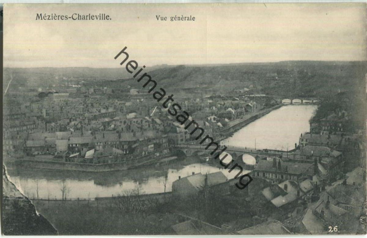 Mezieres-Charleville - Vue generale - Verlag Gaspillage Charleville