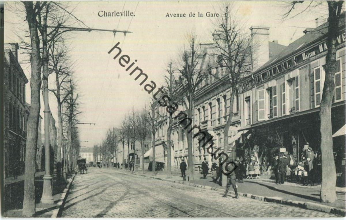 Charleville - Avenue de la Gare - Verlag Gaspillage Charleville