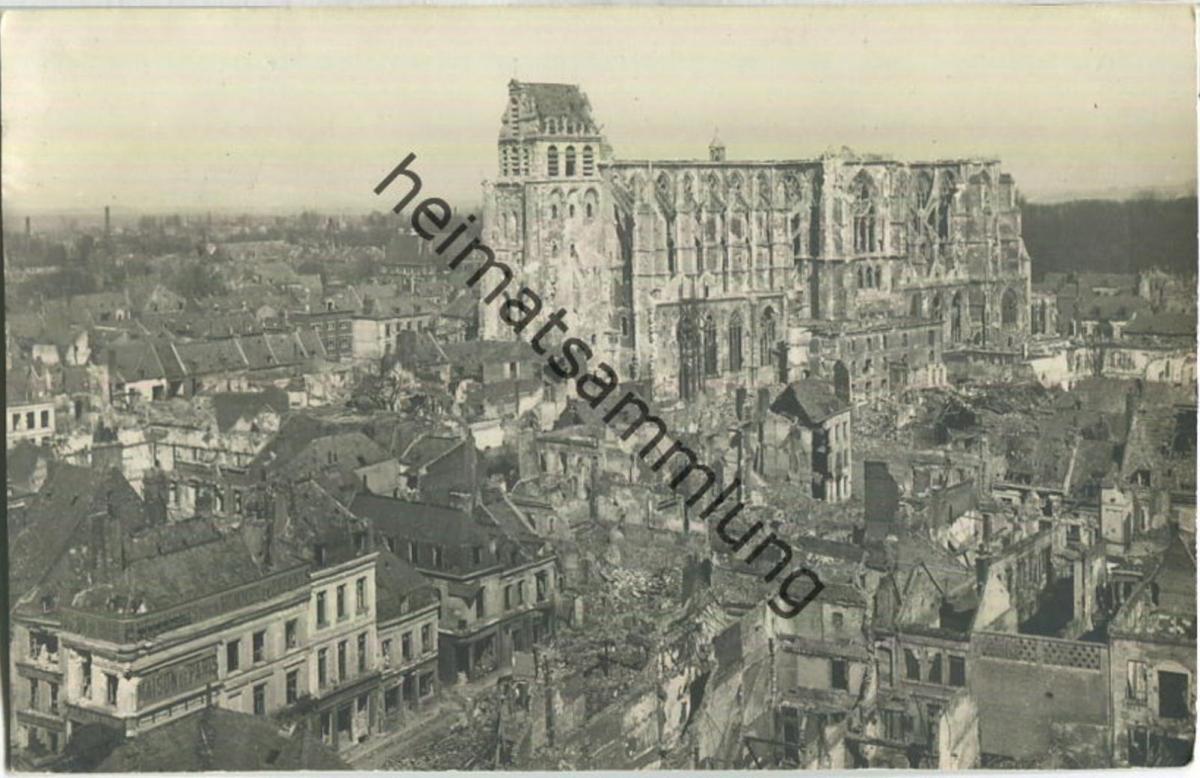 Saint-Quentin - Foto-Ansichtskarte