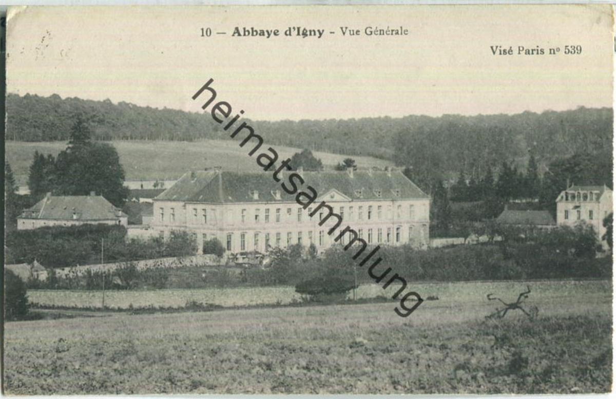 Abbaye d'Igny - Feldpostkarte