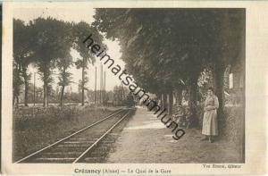 Crezancy - Le Quai de la Gare - Feldpostkarte