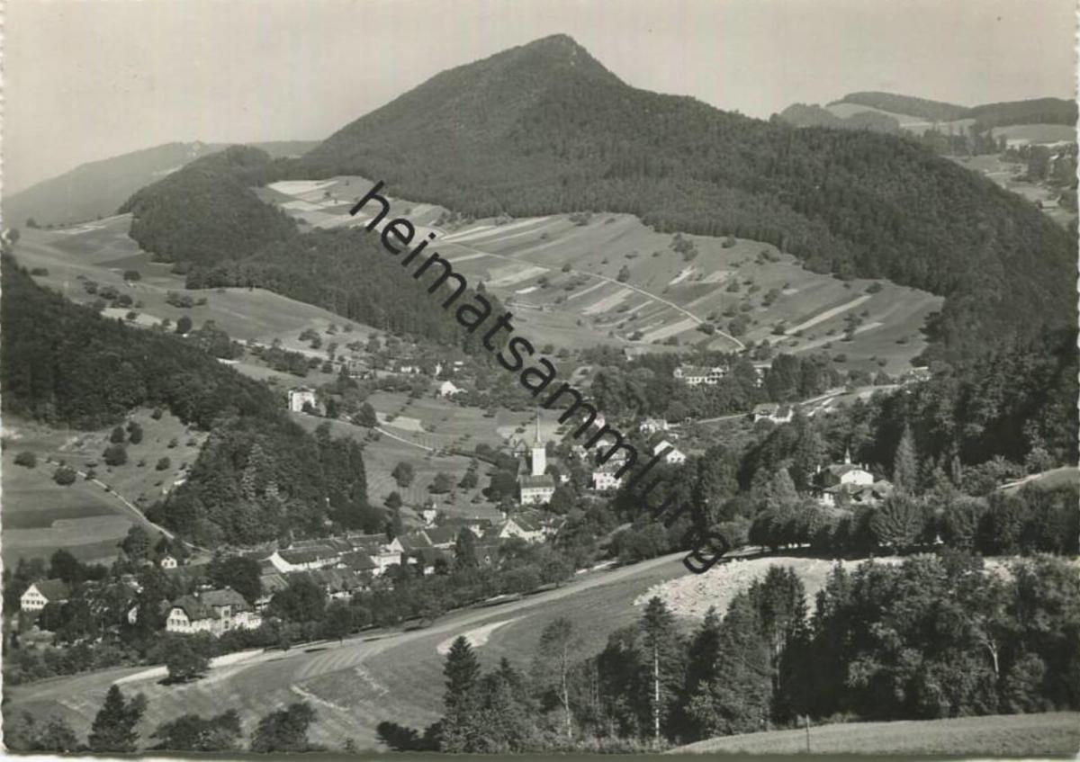 Langenbruck - Foto-AK Grossformat - Verlag Roth Interlaken gel. 1954