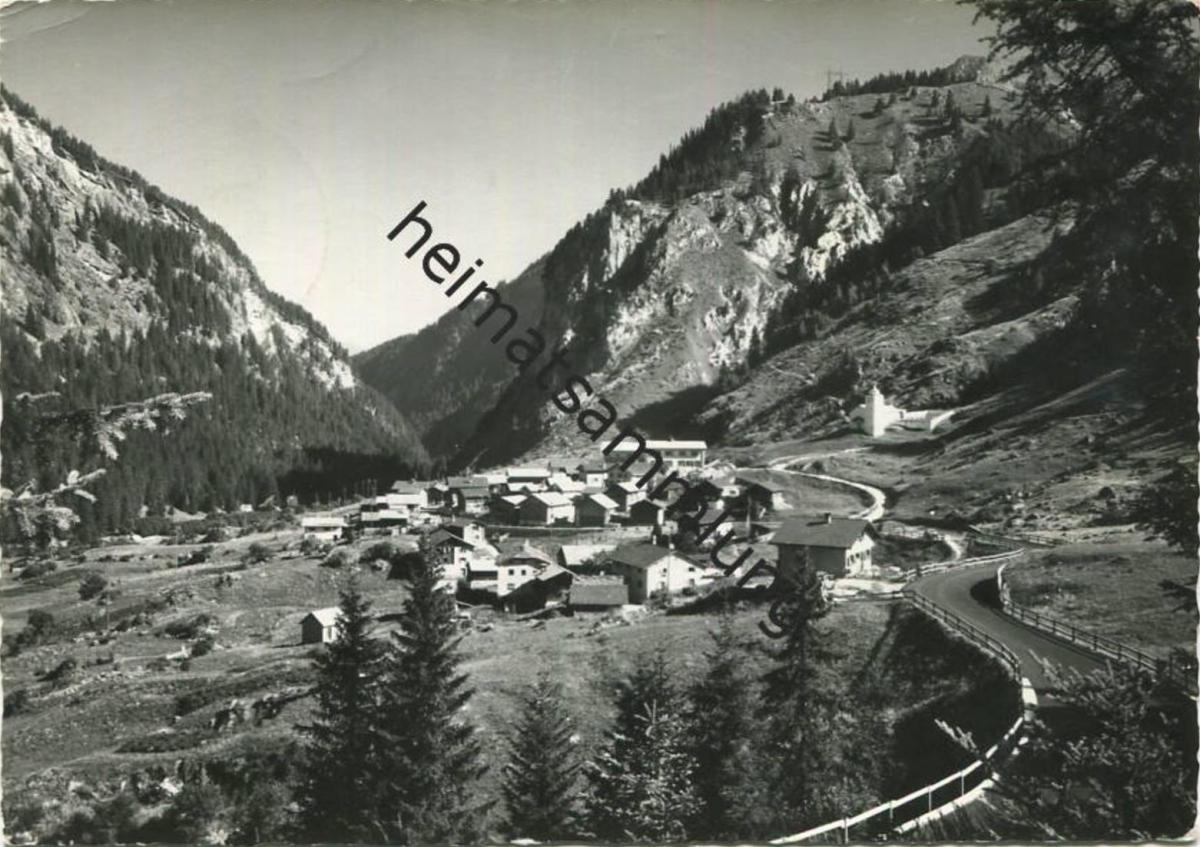 Ausserferrera - Foto-AK Grossformat - Verlag Foto-Gross St. Gallen gel. 1969
