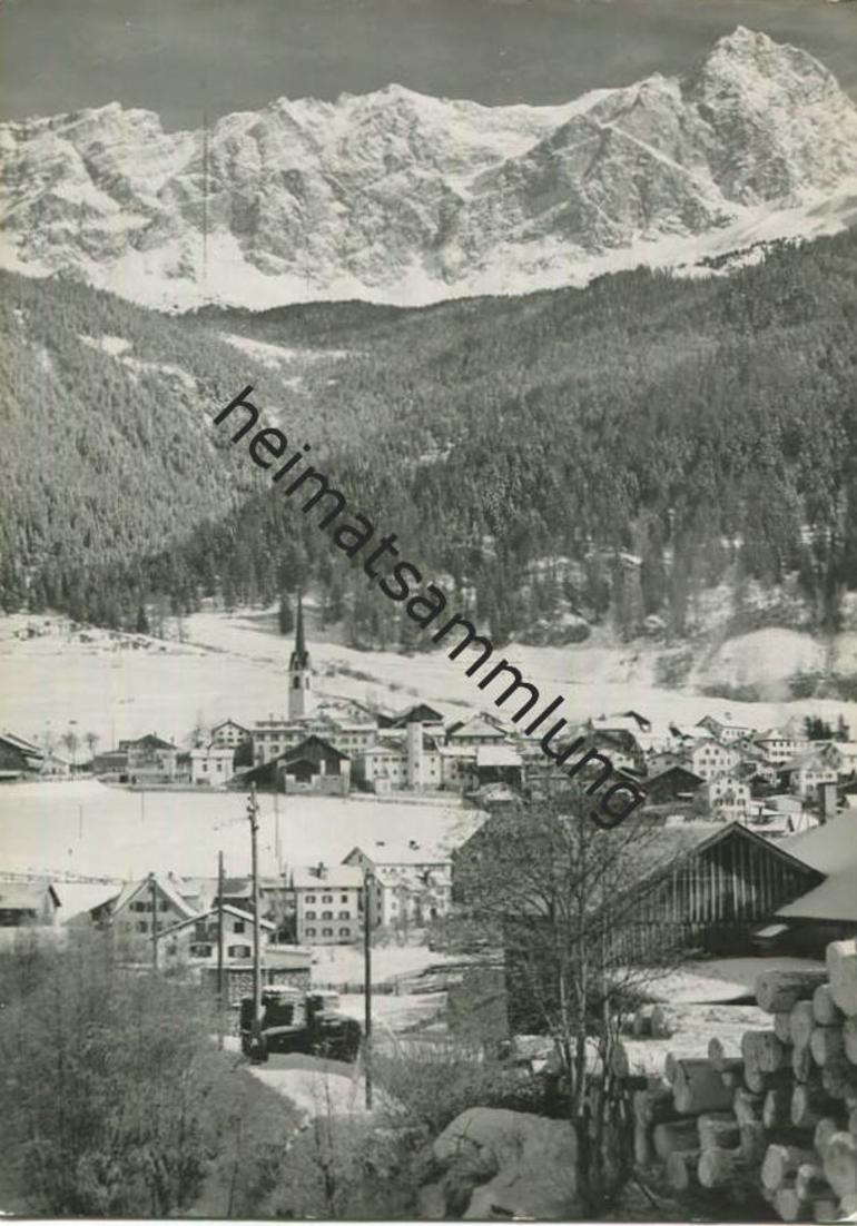 Savognin - Foto-AK Grossformat - Verlag Schiess St. Gallen gel. 1963