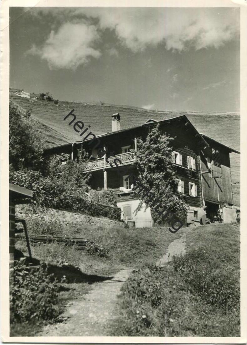 Peist - Simishus - Besitzer Familie K. Nöthiger-Sträuli - Foto-AK Grossformat - Verlag Sträuli Zug gel. 1961