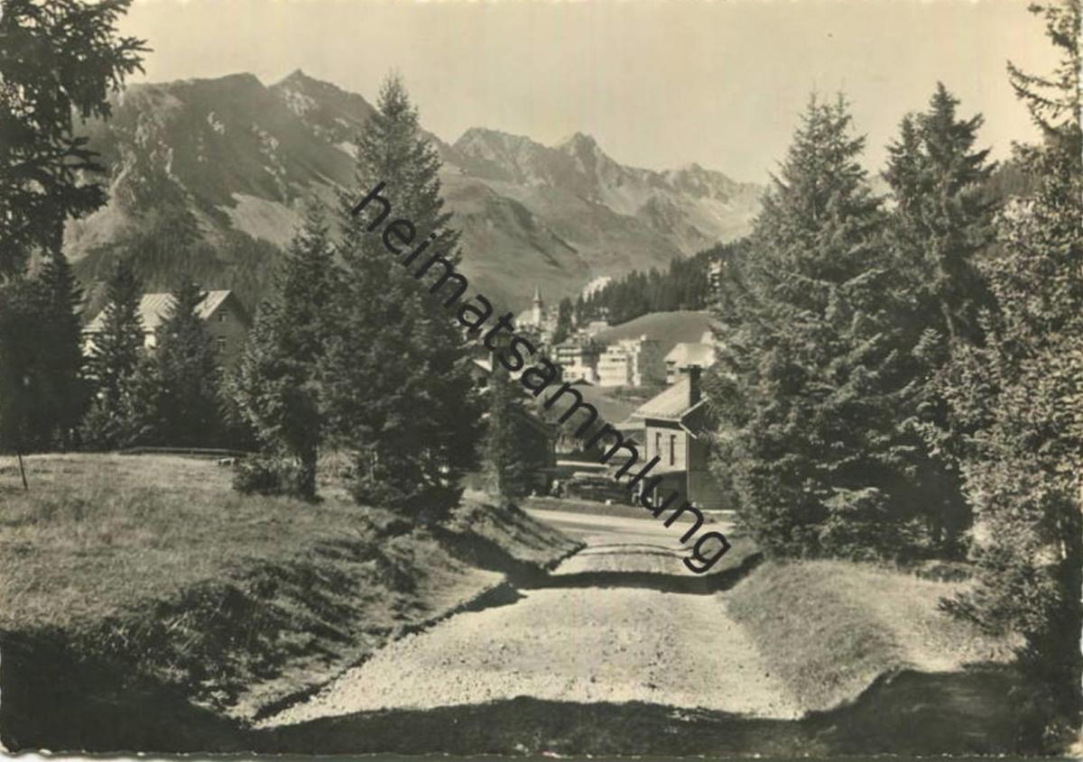 Arosa - Foto-AK Grossformat - Verlag Wolfensberger Arosa gel. 1943