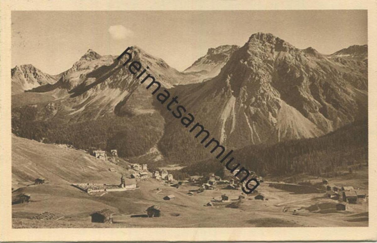 Inner Arosa - Verlag C. Brandt Arosa gel. 1924