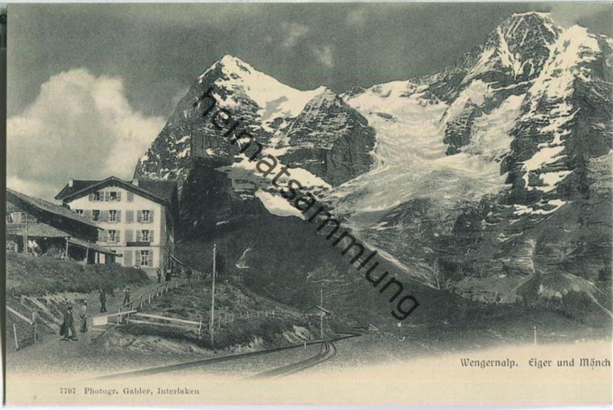 Wengernalp - Eiger - Mönch - Verlag Gabler Interlaken
