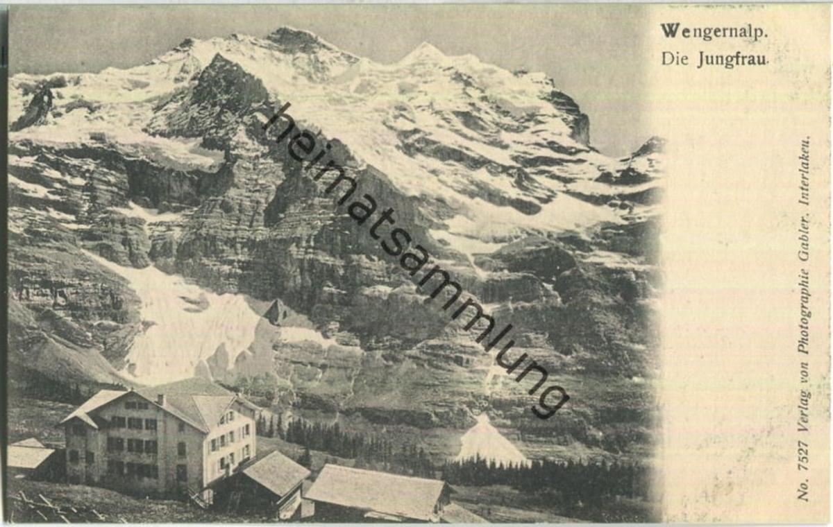 Wengernalp - Jungfrau - Verlag Gabler Interlaken
