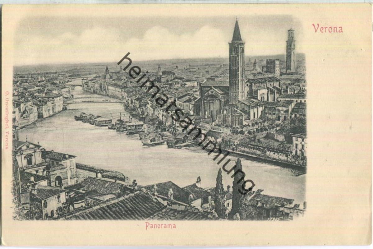 Verona - Panorama - Verlag O. Onestinghel Verona