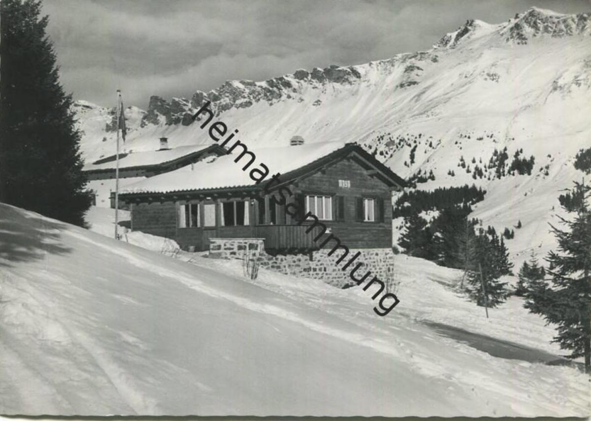 Valbella - Chalet Maya - Foto-AK Grossformat - Verlag A. Bergamin Lenzerheide gel. 1963