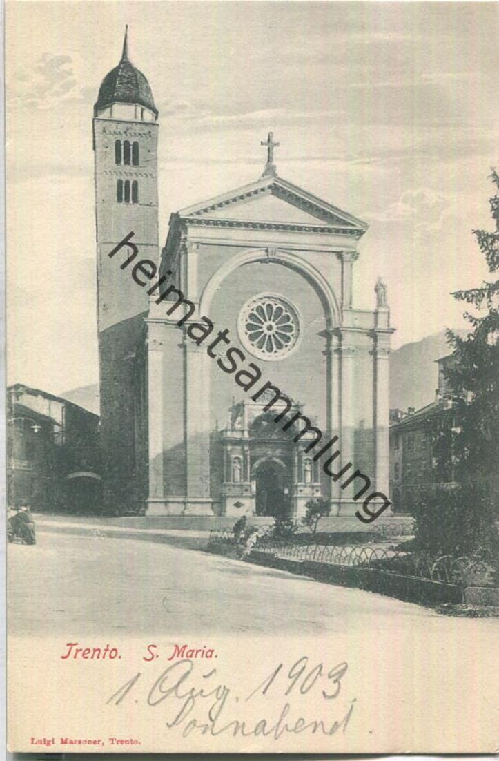 Trient - Trento - S. Maria - Verlag Luigi Marsoner Trento