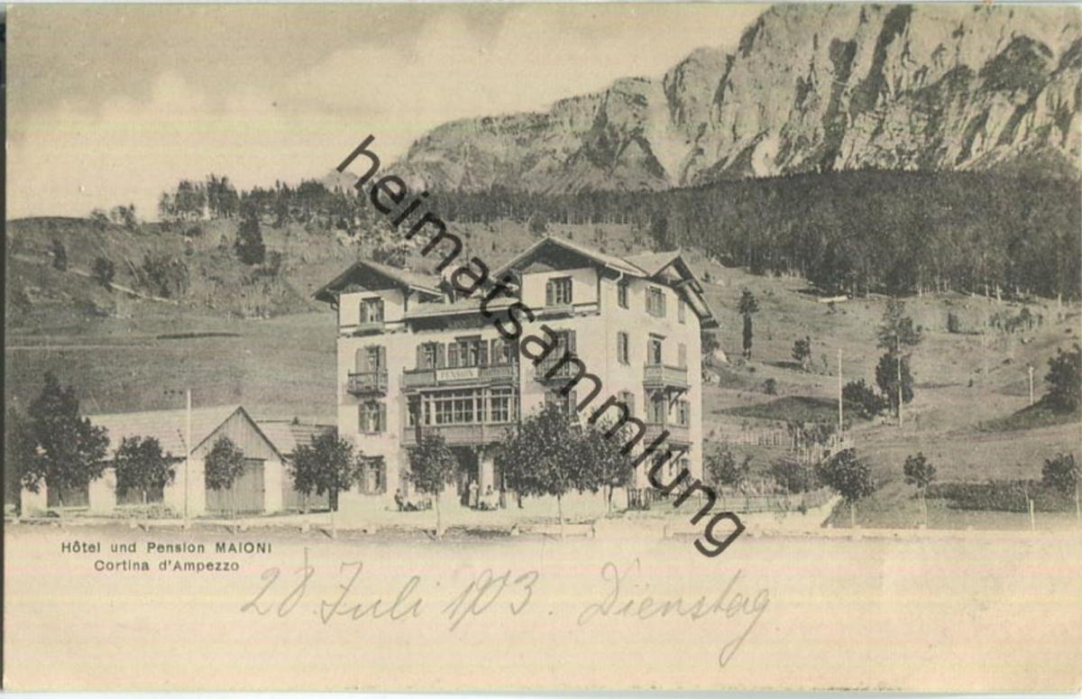 Cortina d' Ampezzo - Hotel Maioni
