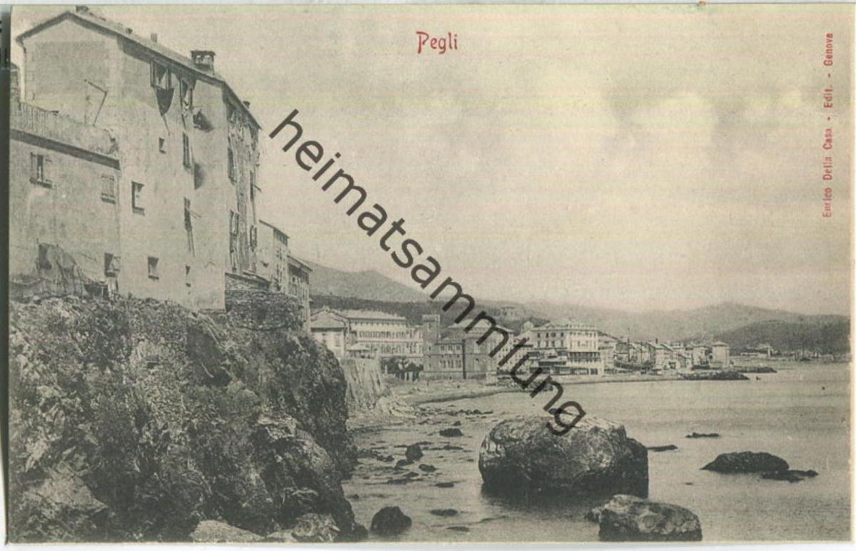 Genua - Pegli - Verlag Enrico Delia Casa Genova