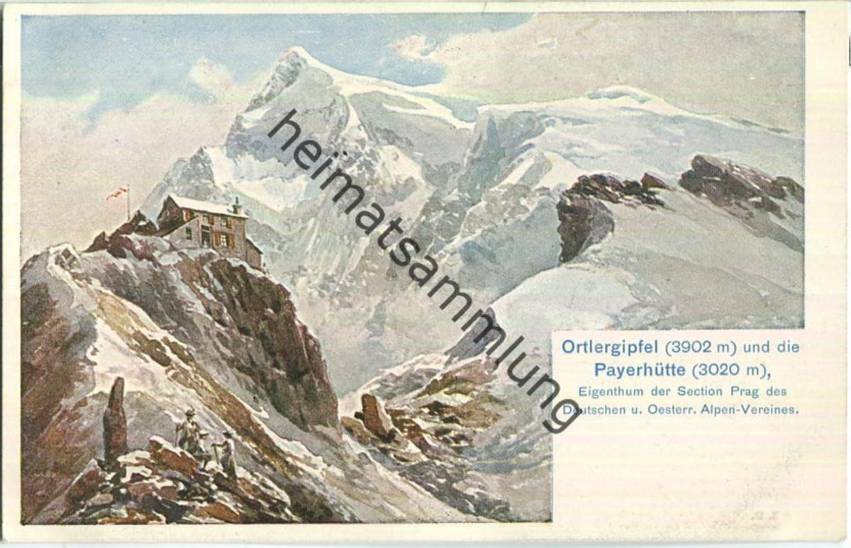 Ortler - Payerhütte - Section Prag des Deutschen und Österreichischen Alpen-Vereins