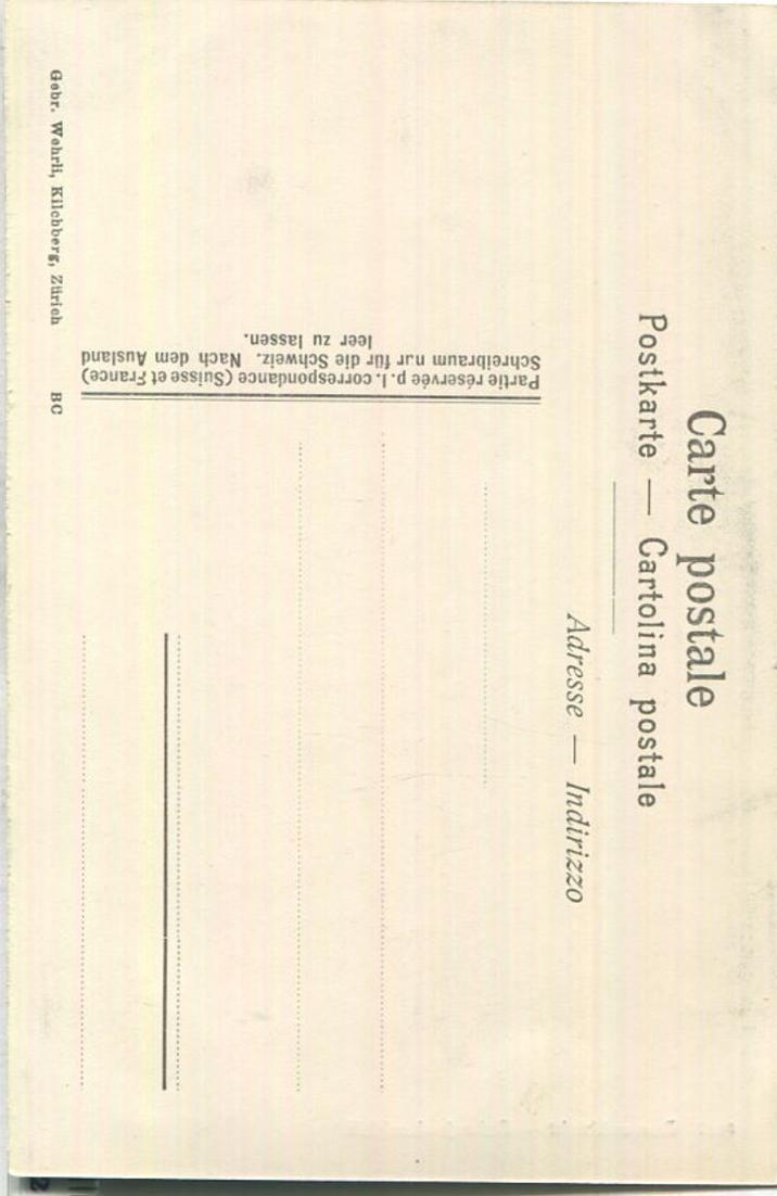 Aareschlucht - Schrejenbachfall - Verlag Gebr. Wehrli Zürich 1