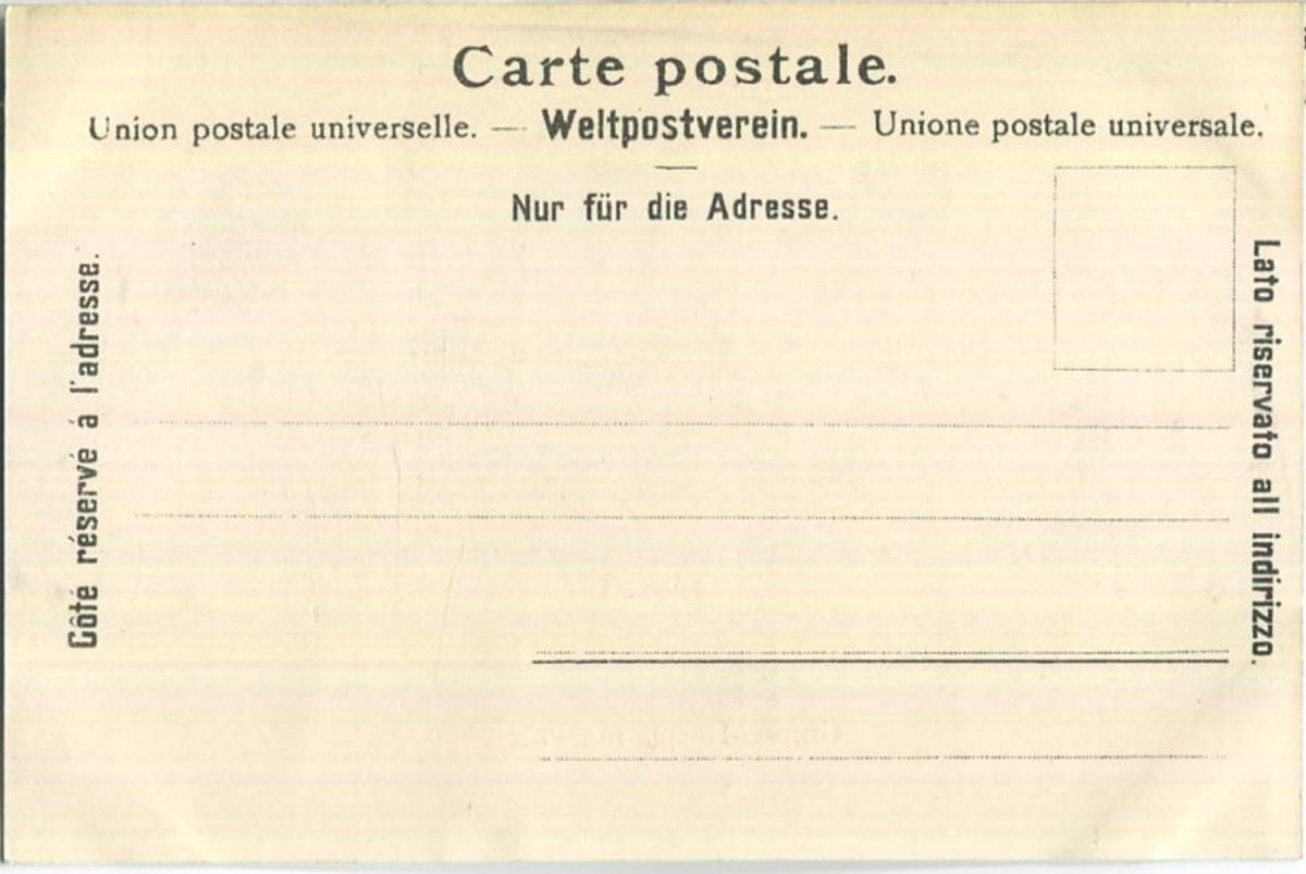 Grimsel-Hospiz - Post - Verlag Chr. Brennenstuhl Meyringen 1