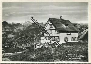 Gonten - Gasthaus Kronberg - Foto-AK Grossformat - Verlag Foto-Gross St. Gallen gel. 1964