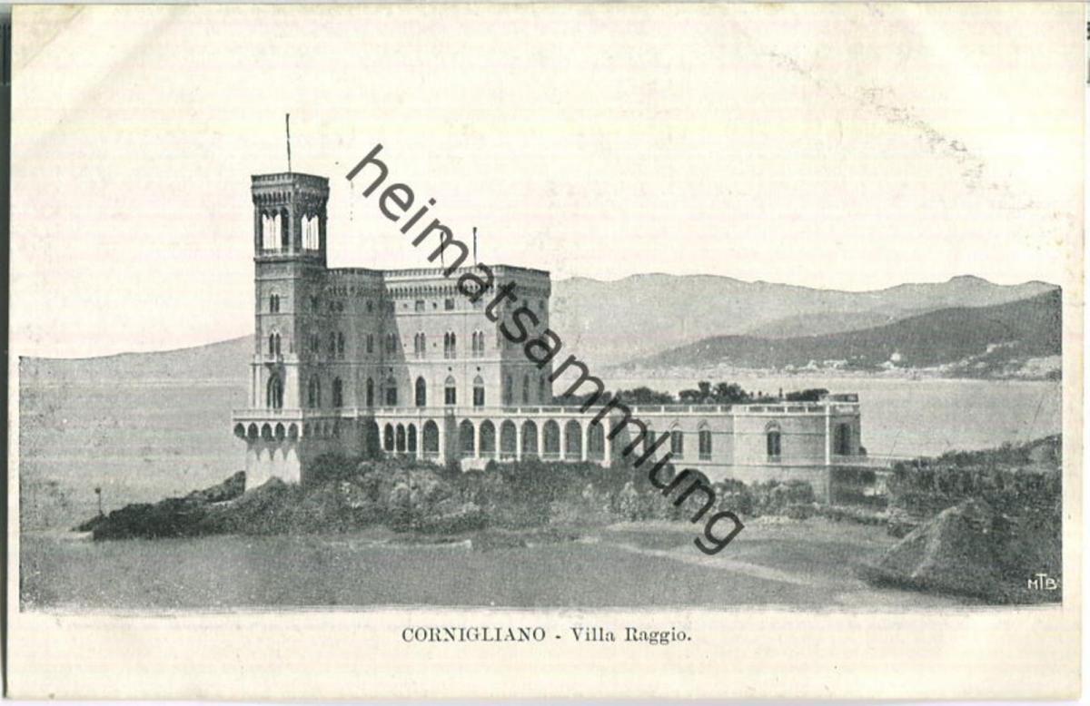 Genova - Cornigliano - Villa Ragio