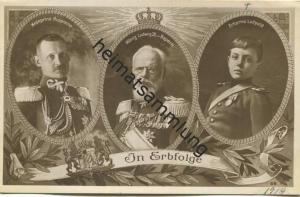 In Erbfolge - Kronprinz Rupprecht - König Ludwig III. von Bayern - Erbprinz Luitpold - Verlag Percy Hein München