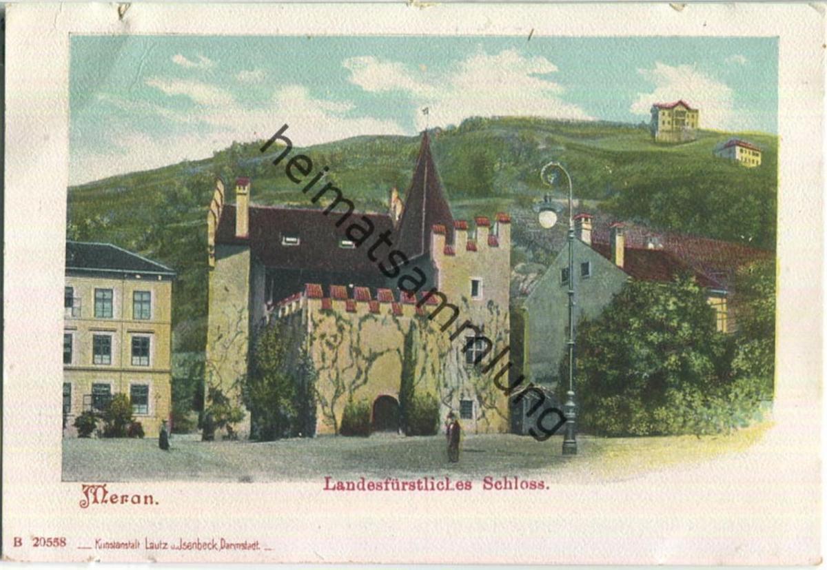 Meran - Schloss - Verlag Lautz und Isenbeck Darmstadt
