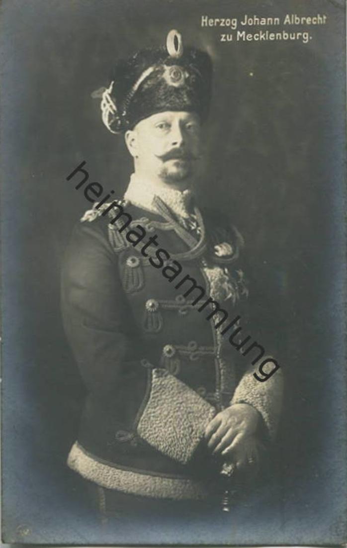 Herzog Johann Albrecht zu Mecklenburg - Verlag NPG