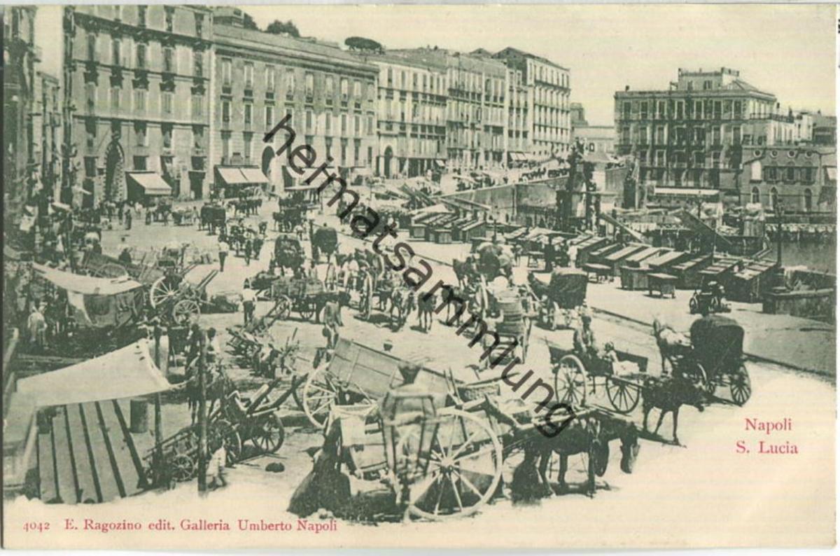 Napoli - S. Lucia - Verlag E. Ragozino Napoli