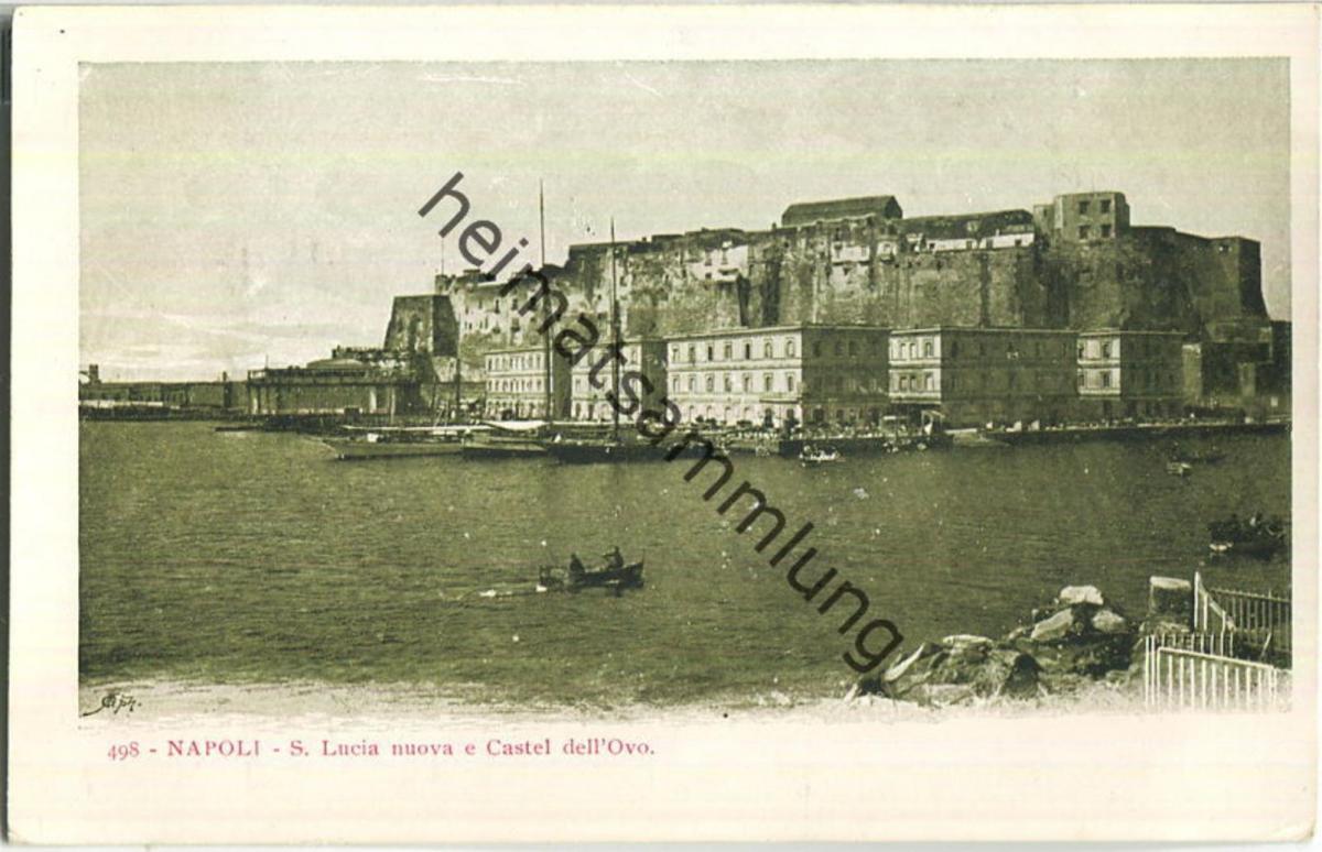 Napoli - S. Lucia nuova e Castel dell' Ovo 0