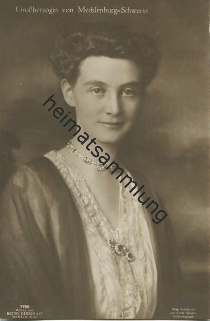 Großherzogin Alexandra von Mecklenburg-Schwerin - Verlag Gustav Liersch Berlin 0