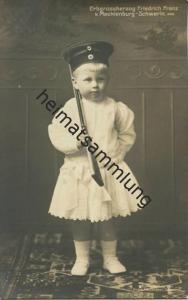 Erbgroßherzog Friedrich Franz von Mecklenburg-Schwerin - Verlag Fritz Heuschkel Schwerin