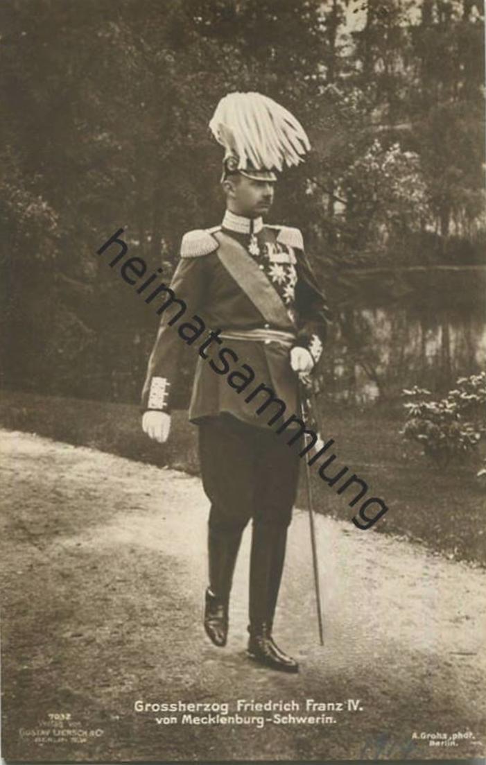 Grossherzog Friedrich Franz IV. von Mecklenburg-Schwerin - Verlag Gustav Liersch & Co. Berlin