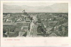 Pompei - Panorama - Verlag Richter & Co. Napoli