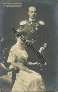 Großherzog Friedrich Franz und Grossherzogin Alexandra von Mecklenburg-Schwerin - Verlag Otto Vieweg Schwerin