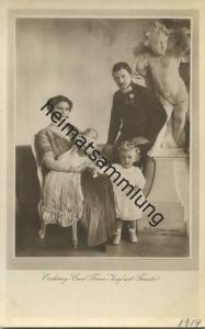 Österreich - Erzherzog Carl Franz Josef mit Familie - Verlag H. C. Kosel Wien 1914