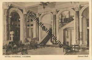 Luzern - Hotel National - Grand Hall