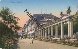 Luzern - Kursaal - E. Goetz Kunstanstalt Luzern gel. 1923