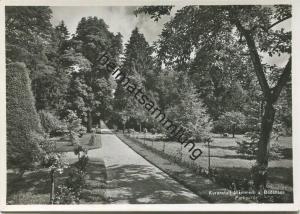 Mammern - Kuranstalt - Parkpartie - Foto-AK Grossformat - Verlag Photoglob-Wehrli Zürich gel. 1940