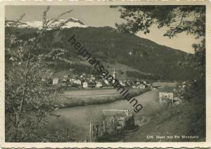 Ilanz - Foto-AK Grossformat - Verlag Jules Geiger Waldhaus-Flims - Rückseite beschrieben
