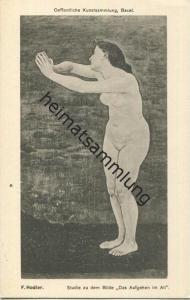 Basel - Kunstsammlung Basel - Ferdinand Hodler - Verlag Frobenius Basel