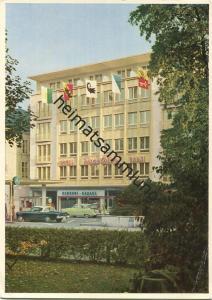 Basel - Hotel Excelsior - Besitzer Familie Heinz Blaser - Aeschengraben 13 - AK Grossformat - Verlag J. Kleiner Bern